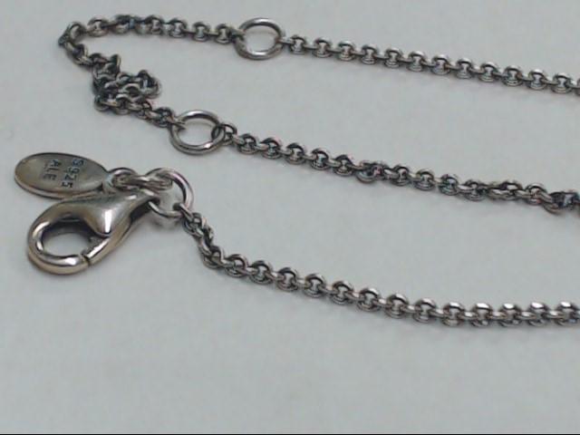 "18"" Silver Chain 925 Silver 2.8g"