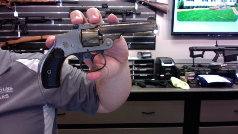 SMITH & WESSON Revolver .32 SAFETY HAMMERLESS SECOND MODEL