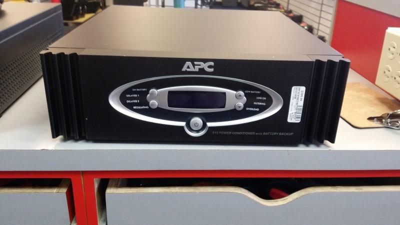 APC AV S15BLK BATTERY BACKUP 1500 VA 900 WATTS