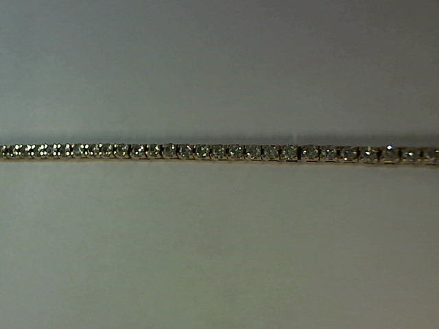 Gold-Diamond Bracelet 61 Diamonds 1.22 Carat T.W. 14K Yellow Gold 9.2g