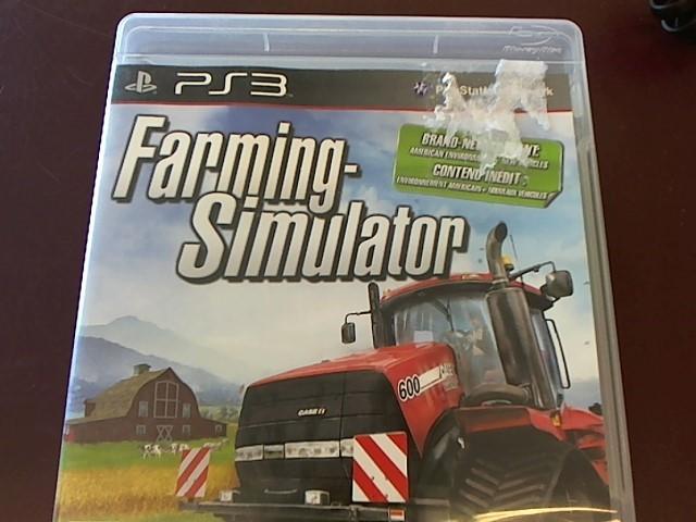 SONY PS3 FARMING-SIMULATOR