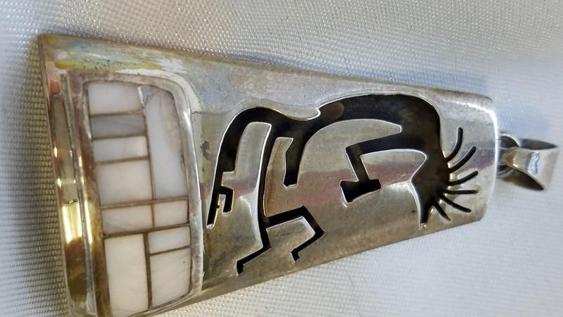 Silver Pendant 925 Silver 11.7g