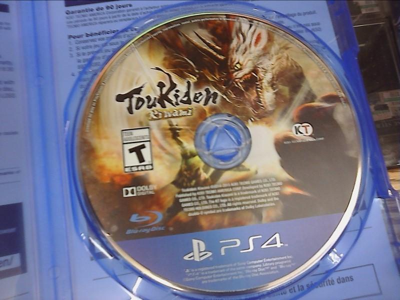 SONY Sony PlayStation 4 Game TOUKIDEN: KIWAMI