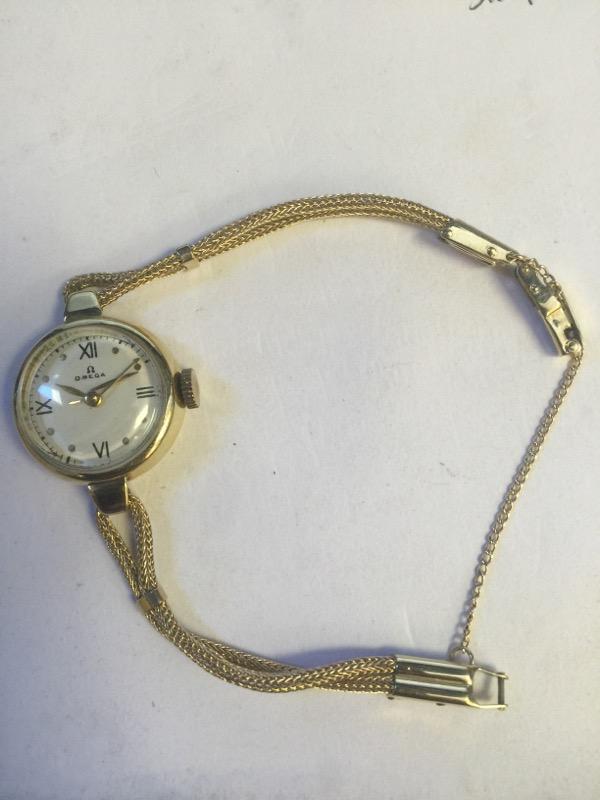 14K YG OMEGA Lady's Wristwatch