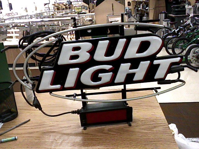 BUD LIGHT Sign NEON SIGN