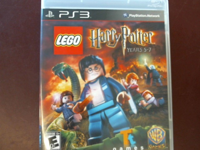 SONY PS3 LEGO HARRY POTTER YEARS 5-7 WITH MANUAL