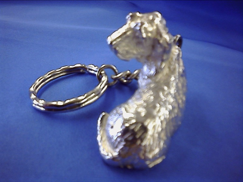 MISC COLLECTIBLES MISC USED MERCH MISC USED MERCH; SILVER KEY RING ANIMALS (PLAT