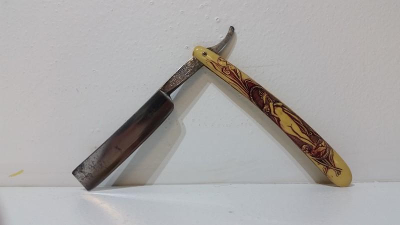 Lafayette Cutlery Co Straight Razor Made in Germany
