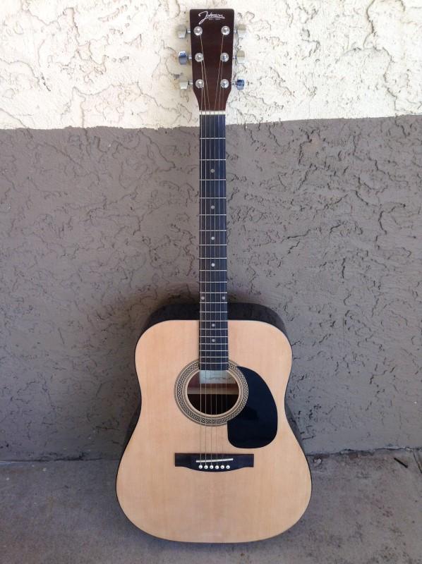 JOHNSON Acoustic Guitar JG-620-N