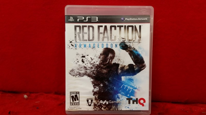 Red Faction: Armageddon (Sony PlayStation 3, 2011)
