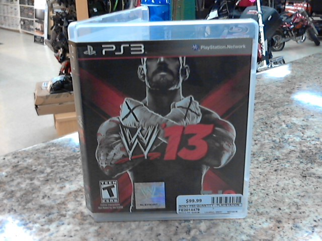SONY Sony PlayStation 3 Game WWE13