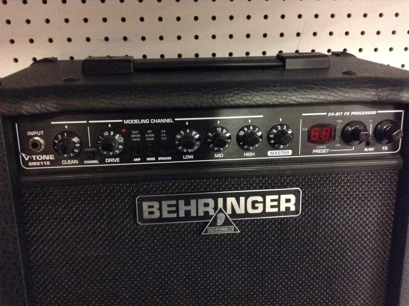 BEHRINGER Electric Guitar Amp GMX110