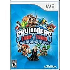 NINTENDO Nintendo Wii Game SKYLANDERS TRAP TEAM WII
