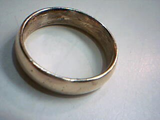 Gent's Gold Wedding Band 14K Yellow Gold 5.6g Size:8.5
