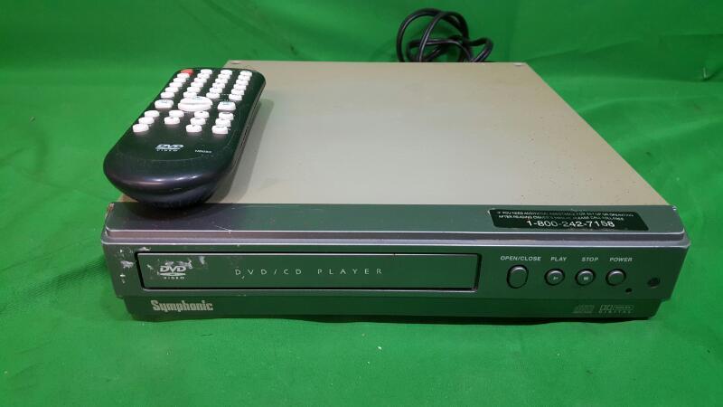 SYMPHONIC DVD Player WF104