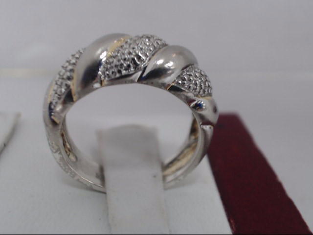 Gent's Silver Ring 925 Silver 5.2g