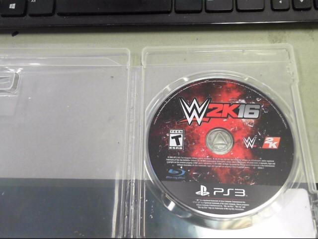 SONY Sony PlayStation 3 Game W2K16 PS3