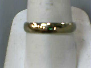 Gent's Gold Wedding Band 10K Yellow Gold 1.5dwt Size:10