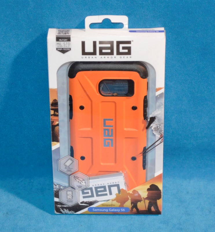 UAG Cell Phone Accessory UAG-GLXS6-RST-W/SCRN-VP
