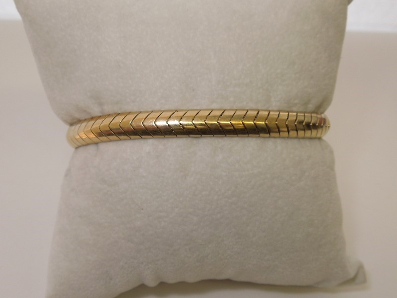 Gold Bracelet 14K Yellow Gold 17.1g