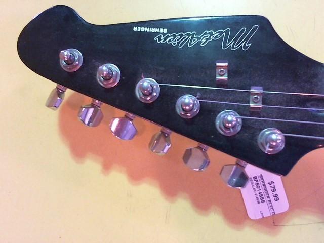 BEHRINGER Electric Guitar MET ALIEN