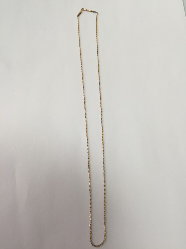 "18"" GOLD CHAIN 14K ROSE GOLD 1.6G"