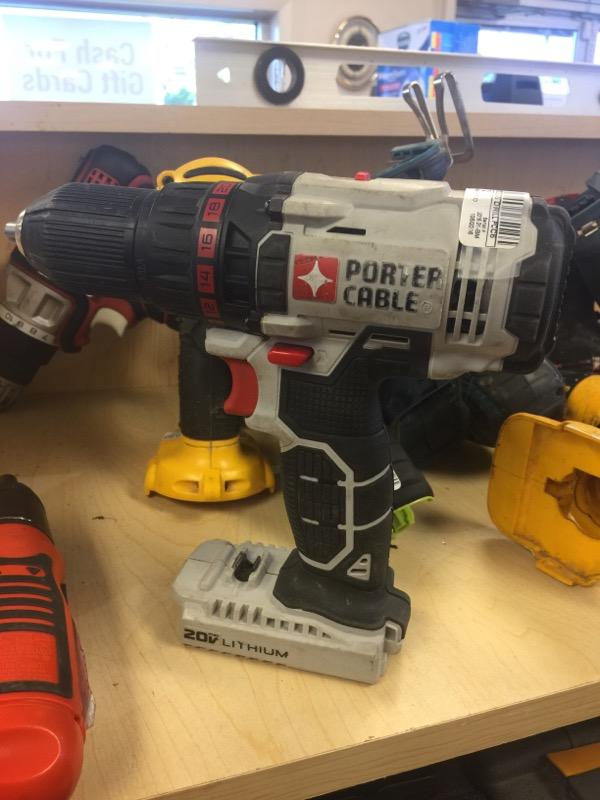 PORTER CABLE Cordless Drill PCC601 - DRILL