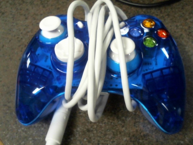 ROCK CANDY Video Game Accessory XBOX 360 CONTROLLER 037-010