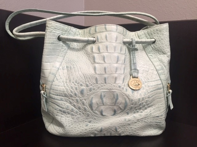 BRAHMIN Handbag DELITA-TEAL MELBOURNE