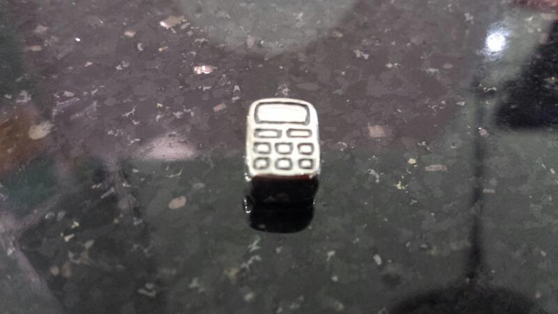 Genuine Pandora Rare Retired Sterling Silver Mobile Phone Charm 790293 925 ALE