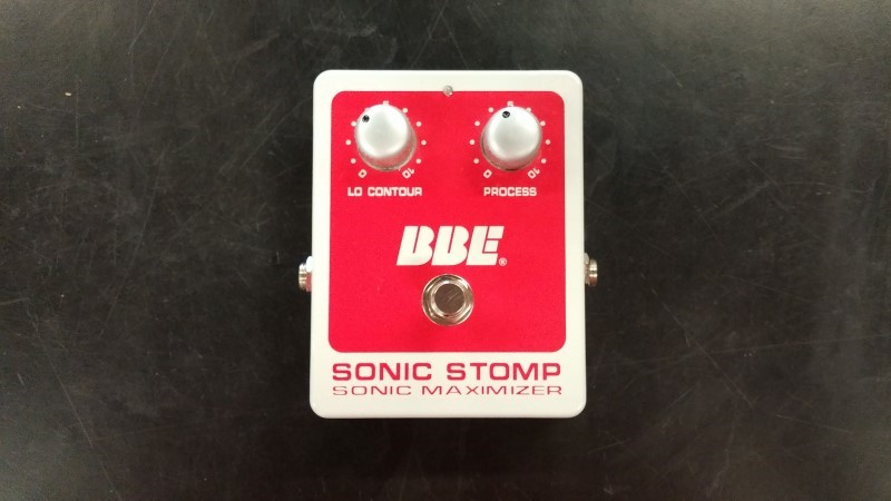 BBE SOUND Effect Equipment SONIC STOMP