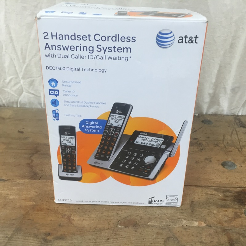 AT&T Land Line Phones & System CL83213