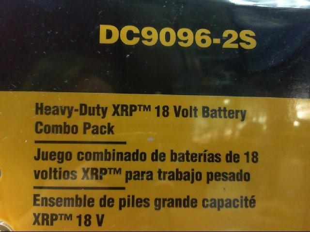 DEWALT 18V Battery DC9096-2S Combo Pack NIB