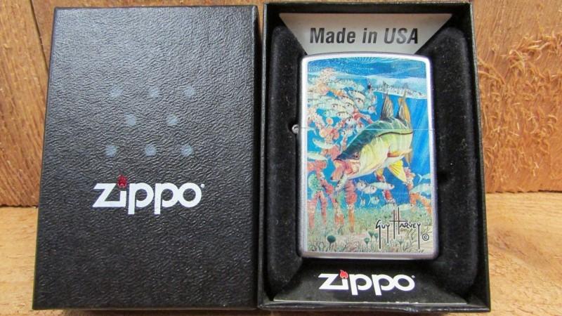 ZIPPO Men's Accessory LIGHTER - ARTWORK BY GUY HARVEY