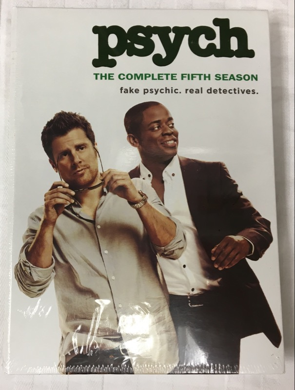 DVD BOX SET PSYCH THE COMPLETE FIFTH SEASON