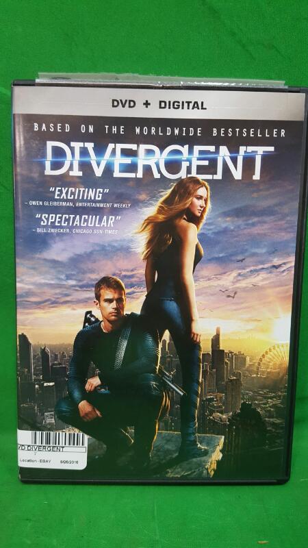 Divergent [DVD + Digital]