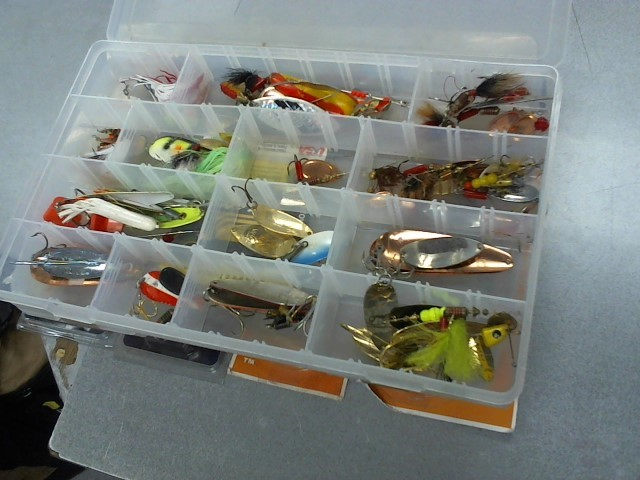 Fishing Tackle VARIOUS FISHING LURES