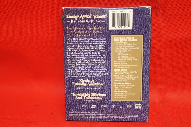 The Osbournes - The First Season (DVD, 2003, 2-Disc Set, Uncensored)