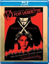 BLU-RAY MOVIE Blu-Ray V FOR VENDETTA