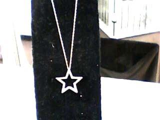 Gold-Multi-Diamond Pendant 60 Diamonds .180 Carat T.W. 10K White Gold 0.9dwt