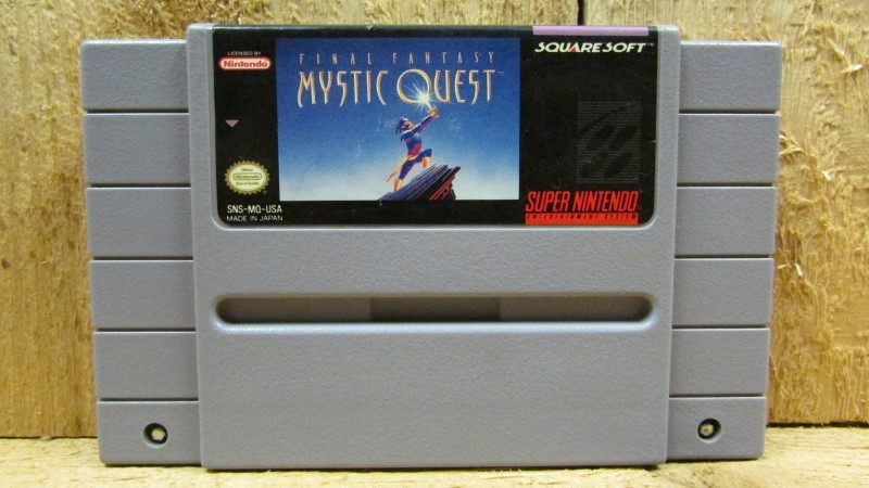 NINTENDO Nintendo SNES Game FINAL FANTASY MYSTIC QUEST