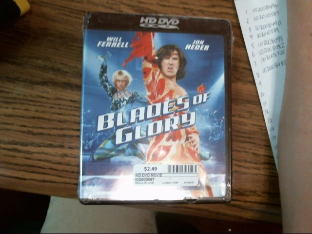 Blades Of Glory HD DVD