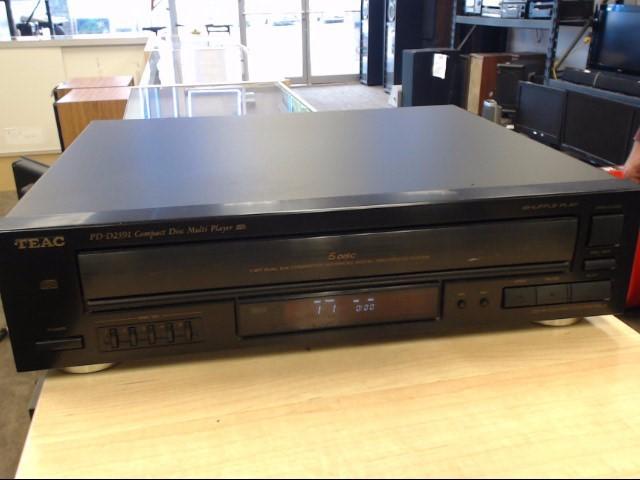 TEAC CD Player & Recorder PD-D2391