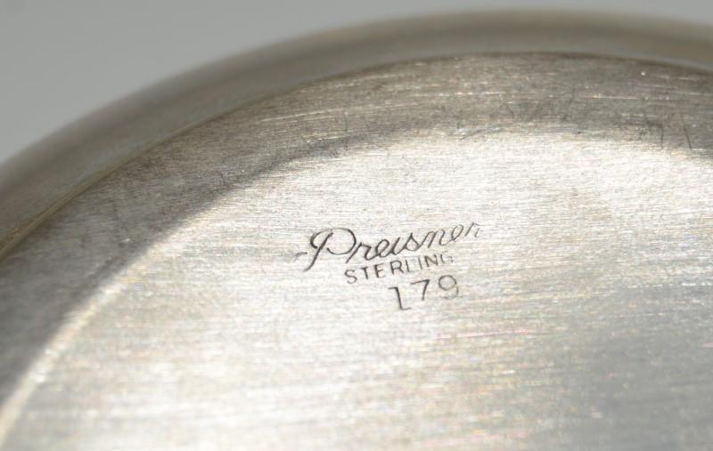 Vintage Preisner Sterling Silver Porringer Model 179. NO MONO