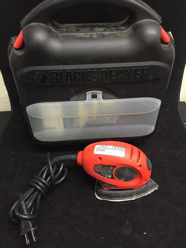 BLACK & DECKER Vibration Sander MOUSE MS500