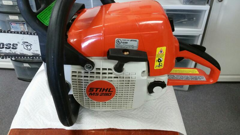 "STIHL MS290 CHAINSAW 20"" BAR"