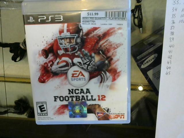 NCAA Football 2012 PS3
