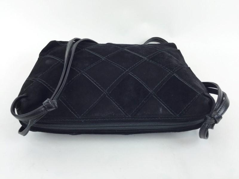 BOTTEGA VENETA SUEDE TASSEL SHOULDER BAG