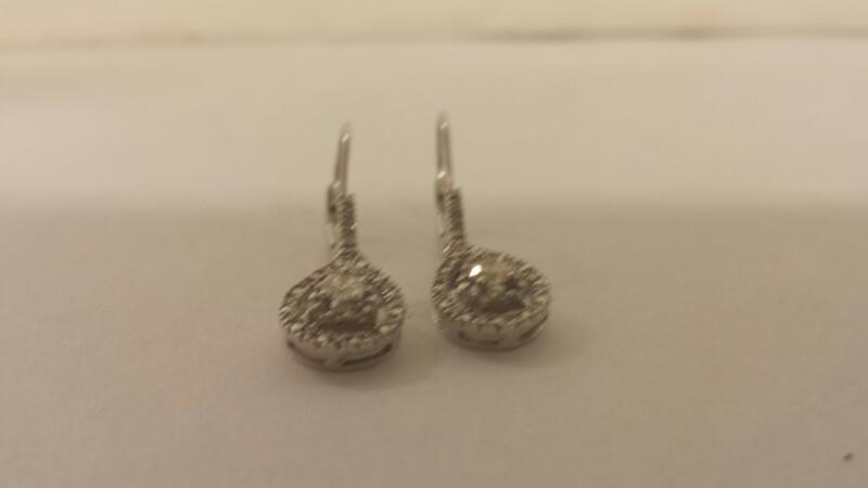 10K-W/G -Diamond Earrings