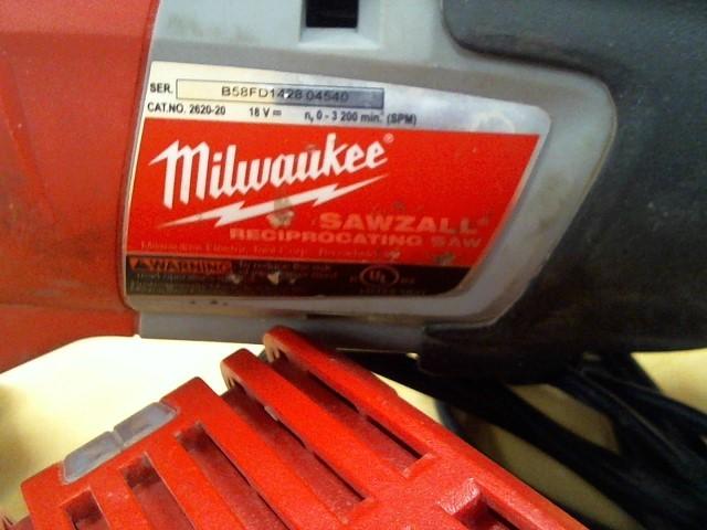 MILWAUKEE Measuring Tool M18 RECIPROCATING SAW